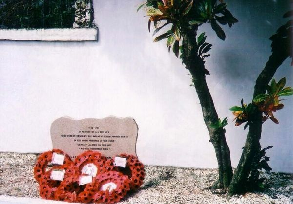 The Heito POW Memorial - Dedicated 2004