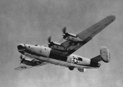 PB4Y-1 Navy Liberator similar to the Queen Bee